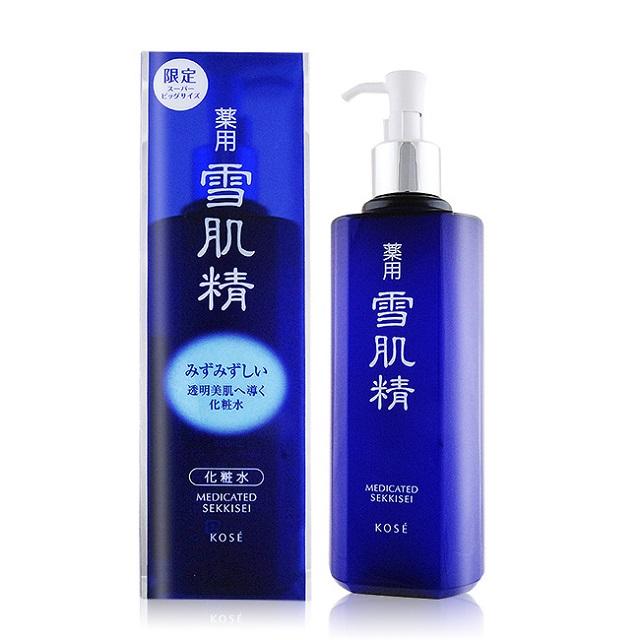 KOSE 高絲 雪肌精(500ml)-限量實惠瓶(按壓式壓頭)-百貨公司貨