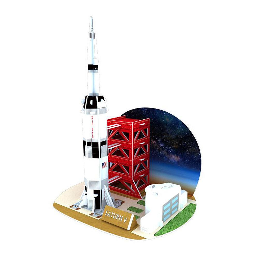 賽先生科學工廠3d立體拼圖太空宇航系列(三款)