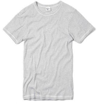 MILLER ミラー 101C リブ ラウンド ネック Tシャツ(L B-GRAY)