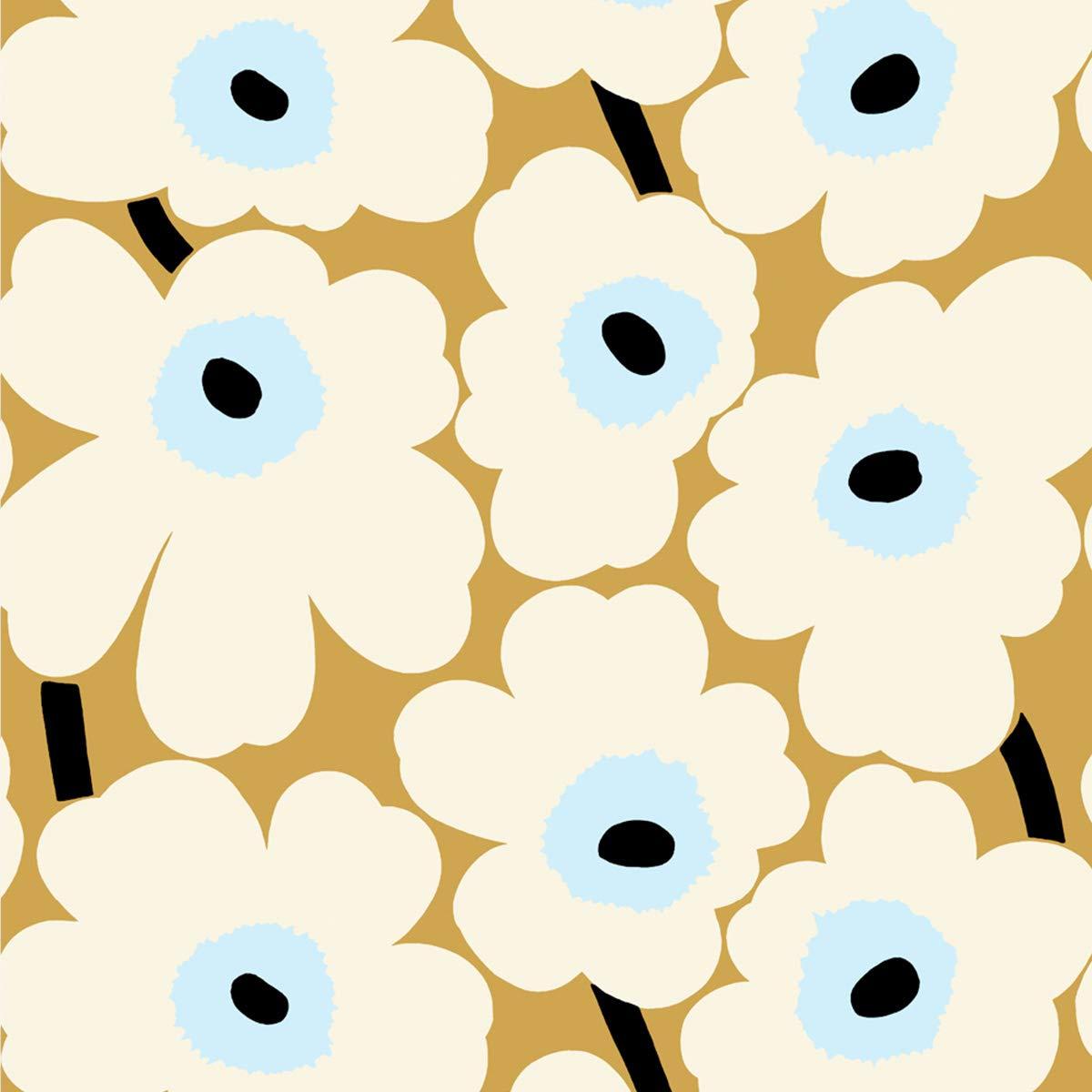 マリメッコ Marimekko 壁紙 23352 ウニッコ 幅70cm オフホワイト 1m