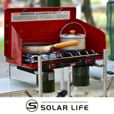 Coleman 瓦斯雙口爐 / 紅 CM-21950.卡式瓦斯爐 行動瓦斯爐 高山快速爐 摺疊雙口爐