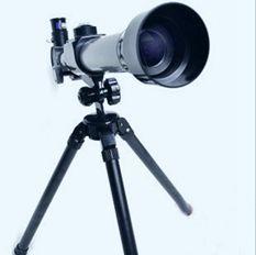 高清天文科普兒童觀月觀星望遠鏡單筒益智望遠鏡科學