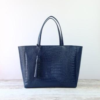 グラントートbag(L)☆彡荷物が多い方へ!マチ幅17センチ