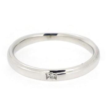 新宿銀の蔵 シンプル ゴールドリング (9号) 金 10金 K10 モード 一粒 ペア 結婚指輪 婚約指輪 ブライダル ホワイトゴールド