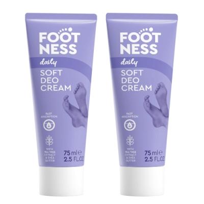 Footness足醫適 腿足B5修護霜75ml(2入組)