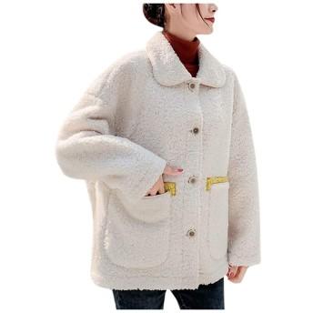 コート レディース もこもこ 韓国 長袖 ゆったり ショート丈 モンベル 軽い 学生 ウール 防寒 大きいサイズ 通勤 ふわふわ ハーフ丈 レディース コート 冬 厚手 通勤 可愛い 防寒 人気