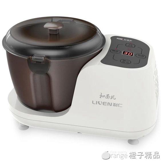利仁D4和面機廚師機家用醒面發酵全自動揉面機攪面機小型恒溫發面qm精品