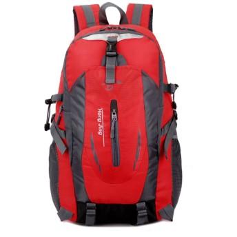 10代の少女の女性のラップトップBagpack旅行バックパックレディース男性赤のバックパック女性スクールバッグ 40L