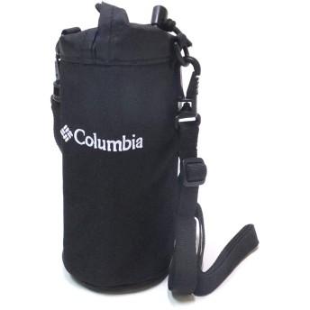 [コロンビア] ペットボトルホルダー ショルダーストラップ カラビナ付き Columbia (010) ブラック PU2203
