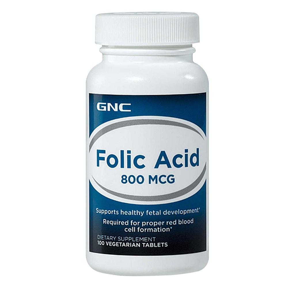 GNC 健安喜 孕養調理 葉酸800食品錠 100錠 2入