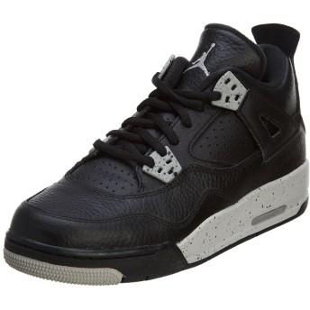 Nike Air Jordan 4 Retro BG [408452-003] Kids Casual Shoes OREO Black/Tech Grey