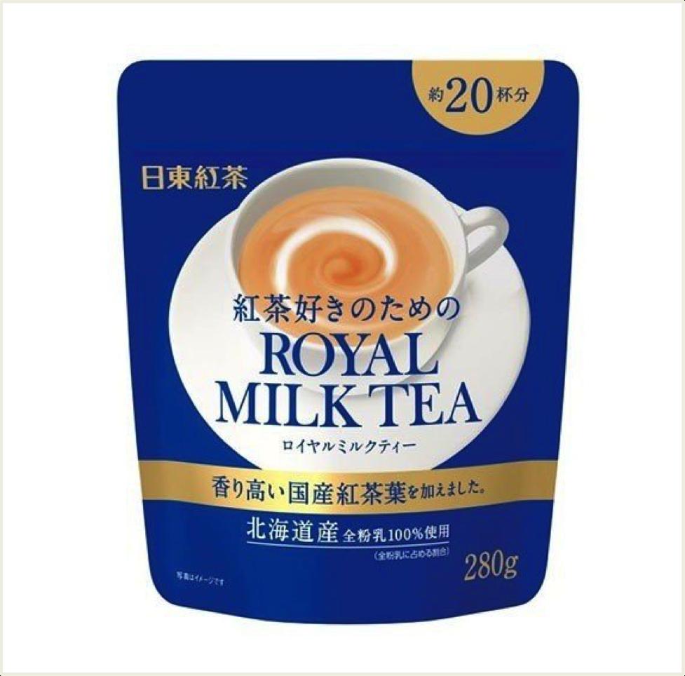 日東紅茶系列 日東皇家奶茶 大包裝(20杯份) 280g