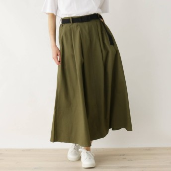 SHOO・LA・RUE/Cutie Blonde(シューラルー/キューティーブロンド)/ベルト付ボリュームチノロングスカート