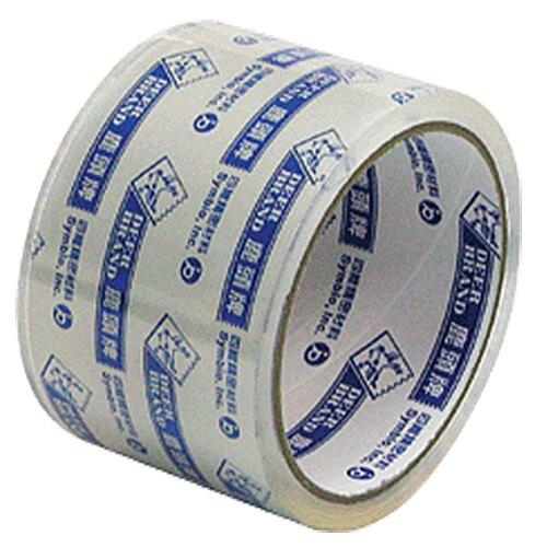 【史代新文具】鹿頭牌 PPS7 60mm36.4M超透明油膠帶