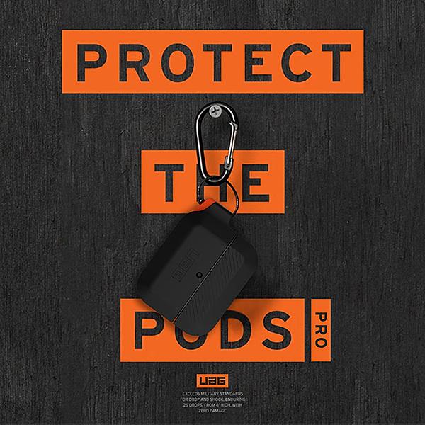 【UAG】 airpods / airpods PRO美國軍方認證 耐衝擊保護殼(矽膠殼) 正品公司貨