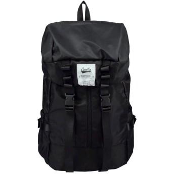 アネロ 高密度ナイロン バックパック ブラック AT-28391 BLACK [並行輸入品]