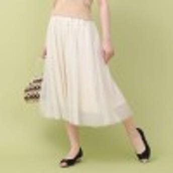 ラメチュールふんわりスカート