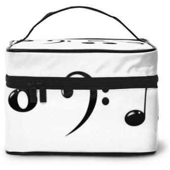 化粧ポーチ 音符のスケッチ 収納ポーチ 多機能 化粧ブラシ収納袋 ウォッシュバッグ 旅行用品収納バッグ 大容量 旅行用 出張用 大容量 機能的 洗面用具入れ 防水 おしゃれ トラベルポーチ セット