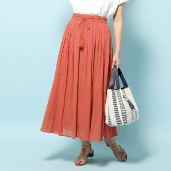 SHOO・LA・RUE/DRESKIP(シューラルー)/【WEB限定サイズあり】インド綿ボリュームマキシスカート