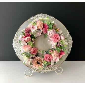 Wreath arrange silver or gold