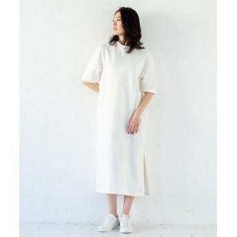 Loungedress(ラウンジドレス) レディース Tシャツワンピース オフホワイト