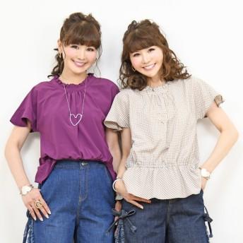 &LOVE 大人カジュアルな旬顔トップス