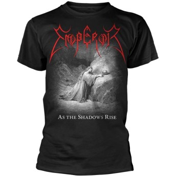 Emperor T Shirt As The Shadows Rise Band Logo 新しい 公式 メンズ Size M