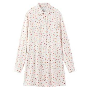 【X-girl:ワンピース】FLORAL WESTERN DRESS