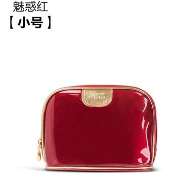 旅行収納バッグ_化粧バッグ女性創意旅行収納バッグ, 貴族の赤トランペット