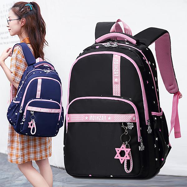 後背包 韓版女生1-4-6年級雙肩包大容量防水校園背包 淇朵市集