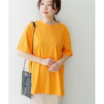 ケービーエフ KBF+ プレーティングBIG Tシャツ レディース ORANGE one 【KBF】