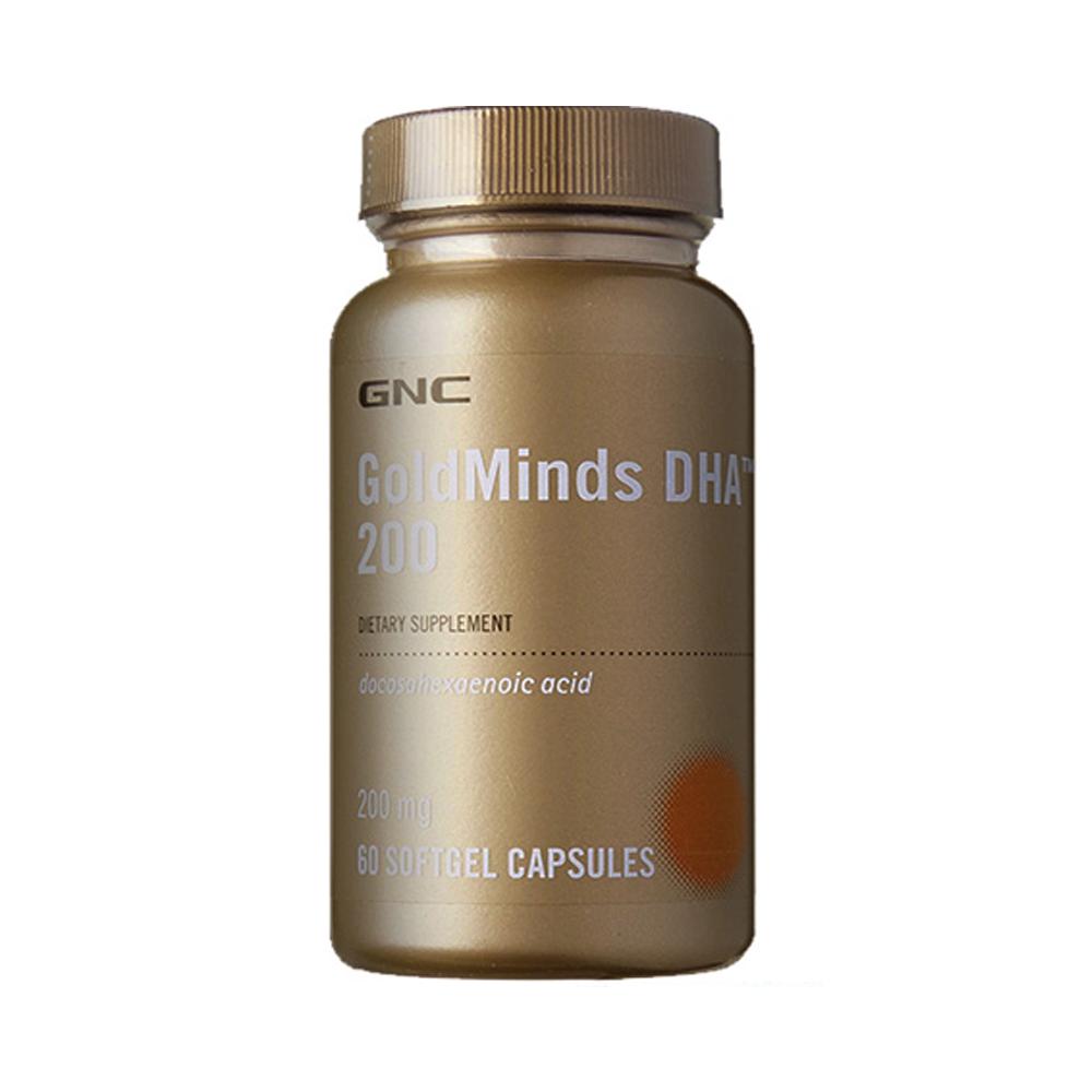 GNC 健安喜 植物性DHA 藻油DHA膠囊食品 60顆
