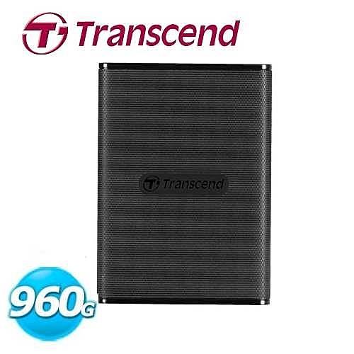 Transcend創見 ESD230C 960G 行動固態硬碟