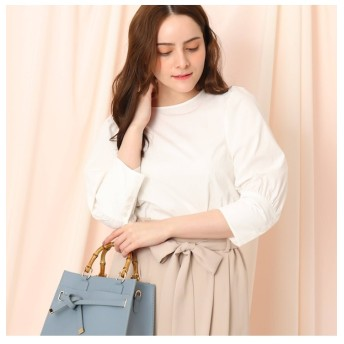 【クチュール ブローチ/Couture brooch】 ボリュームパフスリーブシャツ
