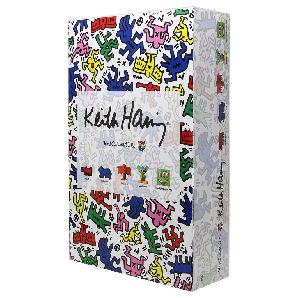MEDICOM TOY Keith Haring 盒抽 盲抽 單盒 itn