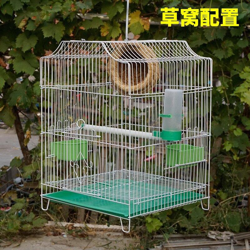 鴿子籠 鳥籠大號鴿子籠虎皮鸚鵡八哥專用鷓鴣鳥籠子養殖家用繁殖豪華別墅『XY2226』