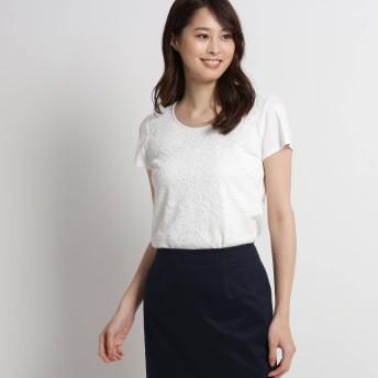 COUP DE CHANCE(クードシャンス)/【洗える】カミラレースTシャツ