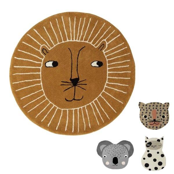 丹麥 OYOY 造型手工羊毛地毯(4款可選)