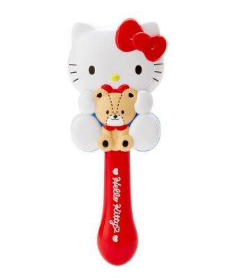 【莓莓小舖】正版 ♥ Sanrio 三麗鷗 Hello Kitty 造型手握梳 梳子