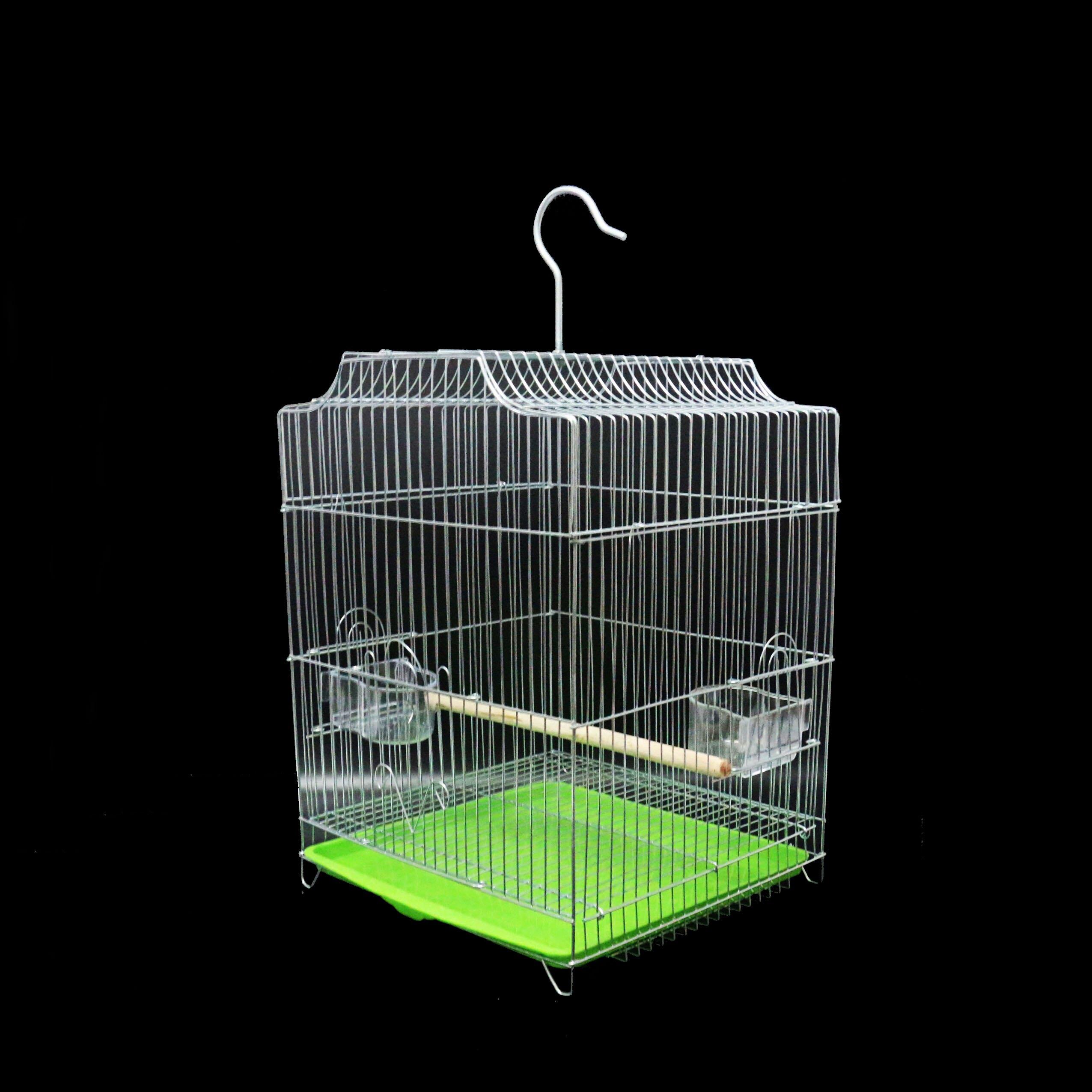 鴿子籠 虎皮鸚鵡鳥籠大號不銹鋼電鍍籠子八哥玄鳳牡丹鸚鵡籠鴿子籠『XY2218』