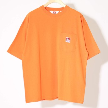 (ベンデイビス) BEN DAVIS ビッグポケットTシャツ [C-0580002] 27 ORANGE L