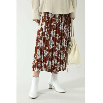 【ローズバッド/ROSEBUD】 ベルトデザインプリーツスカート