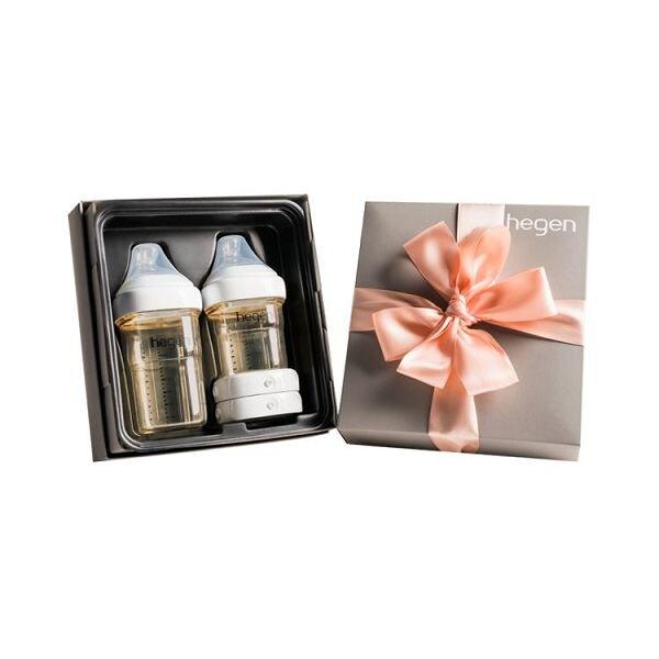 新加坡 hegen 祝賀新生經典奶瓶安心禮|禮盒|彌月禮|經典系列