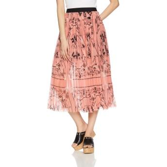 (ディーゼル) DIESEL レディース スカート 花柄ジョーゼットフェミニンスカート 00SR6Y0WATZ XS ピンク 39UA