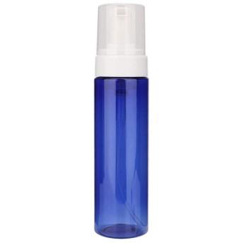 200ML発泡ボトル、タトゥー藍藻類の緑藻空ボトル、石鹸ディスペンサー発泡ポンプ(02#ブルー)