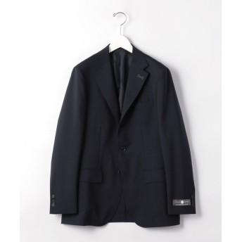 (green label relaxing/グリーンレーベルリラクシング) モヘヤ 混 トロピカル 無地 3B HXD NT HP- スーツ ジャケット < 日本製 >/メンズ NAVY