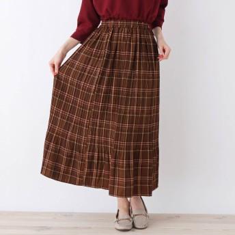 SHOO・LA・RUE/Cutie Blonde(シューラルー/キューティーブロンド)/柄プリント消しプリーツスカート