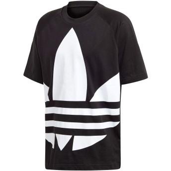 [アディダス] adidas BIG TREFOIL TEE (ブラック) S