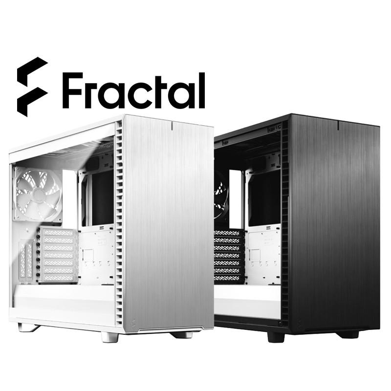 Fractal Design Define 7 TG 黑白 鋼化玻璃透側電腦機殼