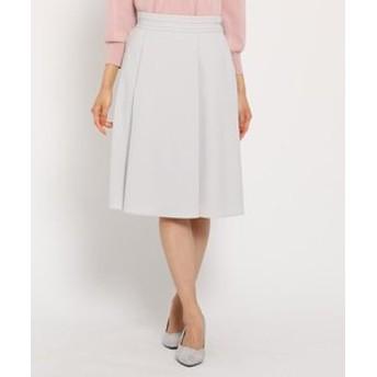 【Reflect:スカート】【WEB限定カラーあり】タックフレアスカート